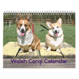 Calendario del Corgi Galés