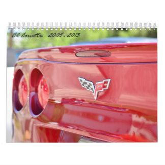 Calendario del Corvette 2015 C6
