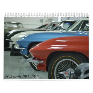 Calendario del Corvette C2 2016