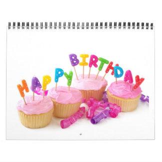 Calendario del cumpleaños