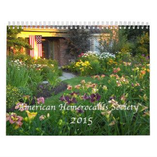 Calendario del Daylily de 2015 AHS