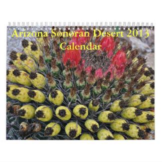 Calendario del desierto 2013 de Arizona Sonoran