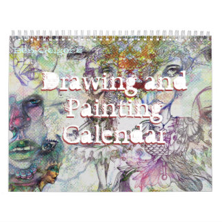 Calendario del dibujo y de la pintura