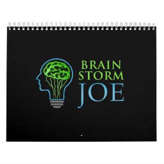 Calendario del diseñador de Joe del intercambio de