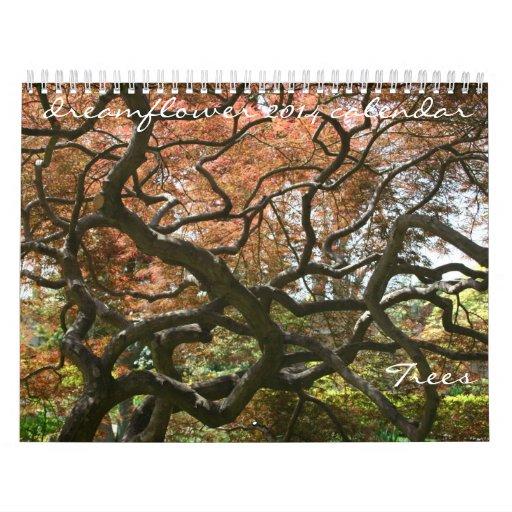 calendario del dreamflower 2014: árboles