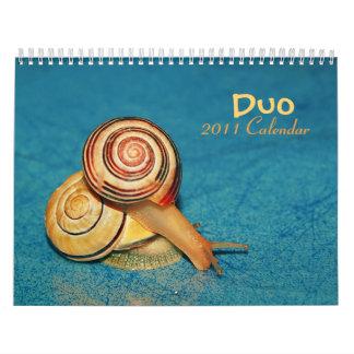 Calendario del dúo 2011