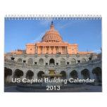 Calendario del edificio del capitolio de los 2013