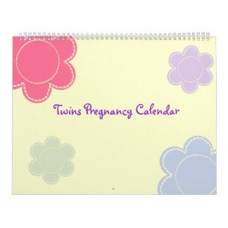 Calendario del embarazo de los gemelos