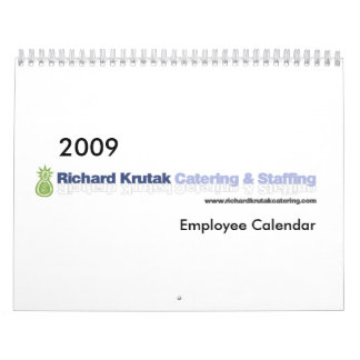 Calendario del empleado de 2009 RKC&S