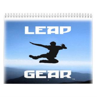 Calendario del engranaje 2010 del salto