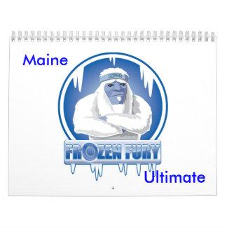 Calendario del equipo de Maine
