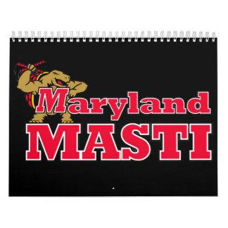 Calendario del equipo de Maryland Masti 2009
