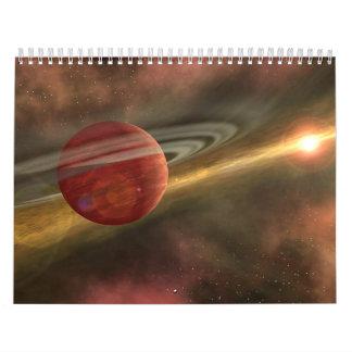 Calendario del espacio