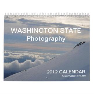 Calendario del estado de Washington 2012