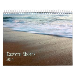 Calendario del este de las orillas 2014