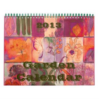 Calendario del estudio de naturaleza 2013