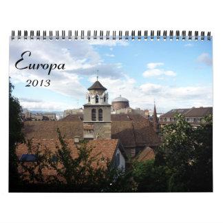 calendario del europa 2013