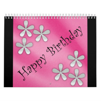 Calendario del feliz cumpleaños