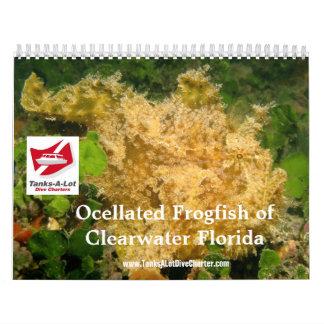 Calendario del Frogfish 2012