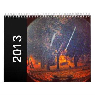 Calendario del fuego 2013 de los árboles del mundo