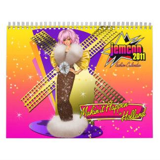 Calendario del funcionario 2011 de JemCon