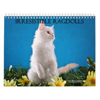 Calendario del gato de Ragdoll