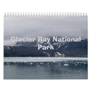 Calendario del Glacier Bay