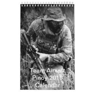 Calendario del GOLPECITO 2015