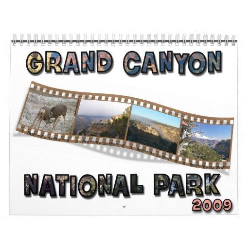 Calendario del Gran Cañón 2009