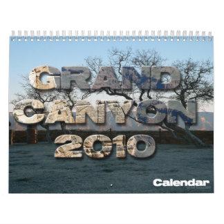 Calendario del Gran Cañón 2010