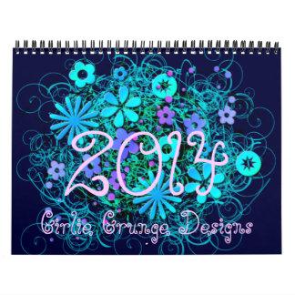 Calendario del Grunge 2014 de Girlie
