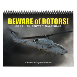 Calendario del helicóptero 2011