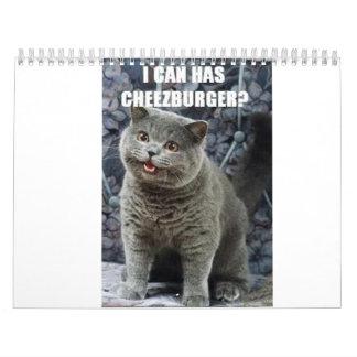 calendario del icanhascheezburger