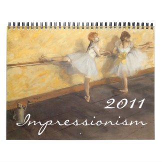 Calendario del impresionismo 2011