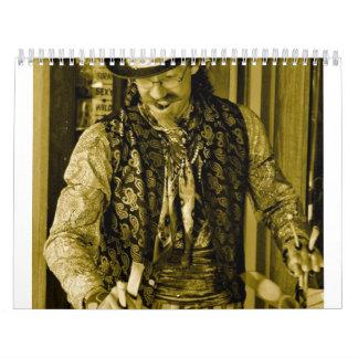 Calendario del individuo del circo