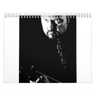 Calendario del individuo del gángster