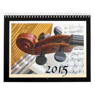 Calendario del instrumento musical 2015