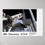 Calendario del ISS-Descubrimiento 2006 Impresiones