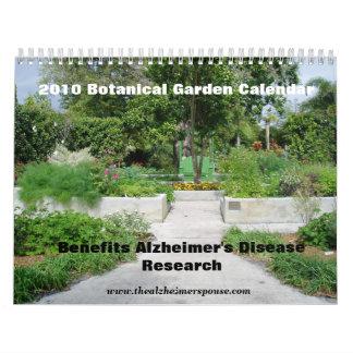 Calendario del jardín botánico
