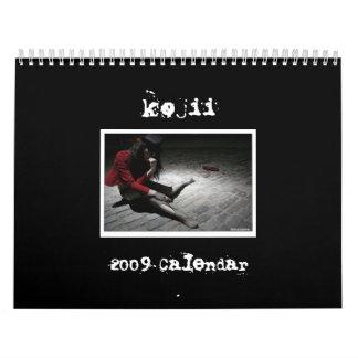 calendario del kojii 2009