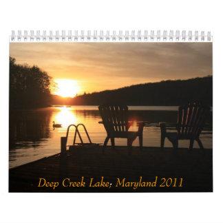 Calendario del lago profundo creek, Maryland 2011