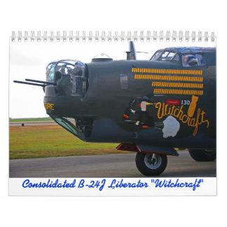 Calendario del libertador de 2015 B-24J