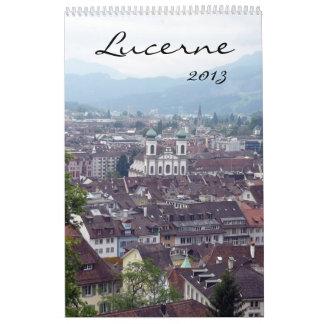 calendario del lucerne 2013
