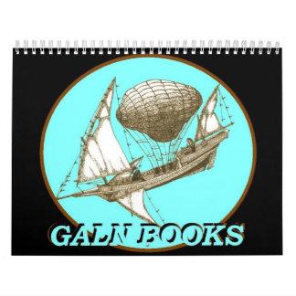 Calendario del mapa de Galn