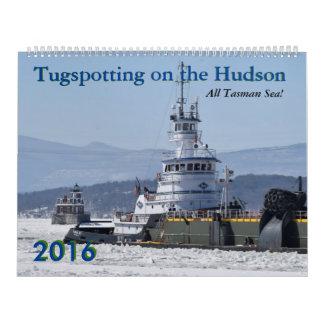 Calendario del mar 2016 de Tugspotting Tasman