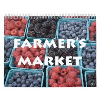 Calendario del mercado del granjero
