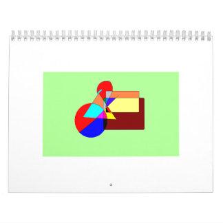 calendario del mosaico