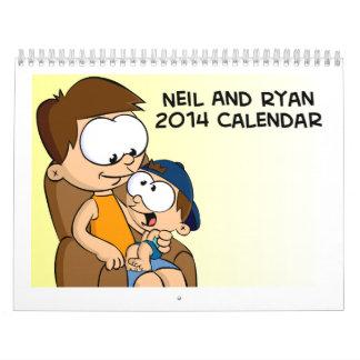 Calendario del NaR 2014