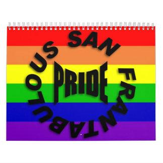 Calendario del orgullo 2009 de San Frantabulous
