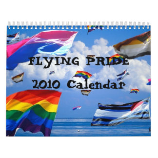 Calendario del orgullo 2010 del vuelo